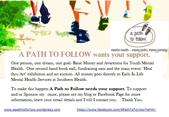 A Path to Follow Fundraising Postcard